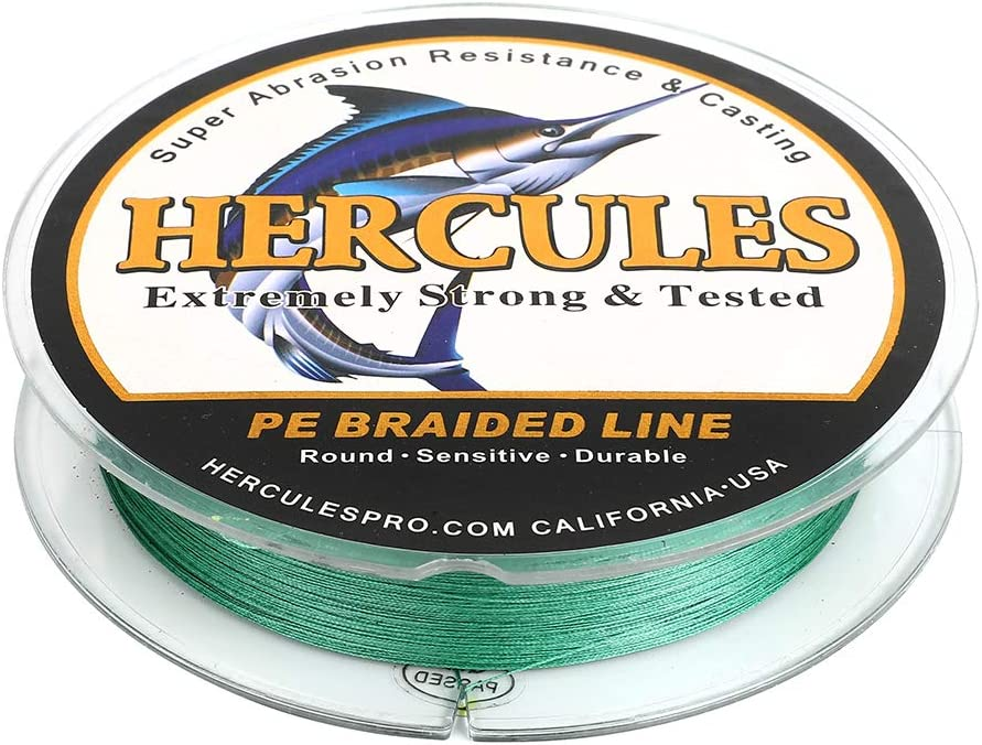 HERCULES Cost-Effective Super Some reservation Cast Max 49% OFF 8 Lin Strands Fishing Braided