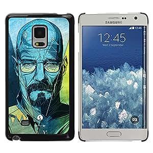 Shell-Star Arte & diseño plástico duro Fundas Cover Cubre Hard Case Cover para Samsung Galaxy Mega 5.8 / i9150 / i9152 ( Series Original Meth Walter Tv Jesse )