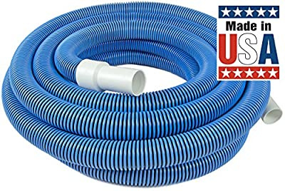 Poolmaster Premium Pool Vacuum Hose with Swivel Cuff - available in lengths of 30, 35, 40, or 45 Feet