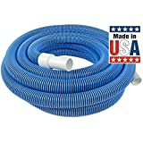 """Poolmaster 33440 1-1/2"""" x 40' In-Ground Vacuum Hose - Classic Collection"""