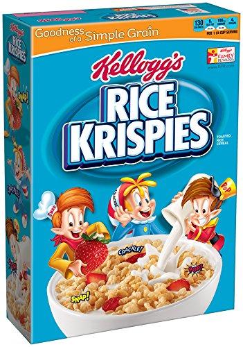 Rice Krispies Kellogg's Rice Krispies Cereal, 12 oz (Breakfast Rice)