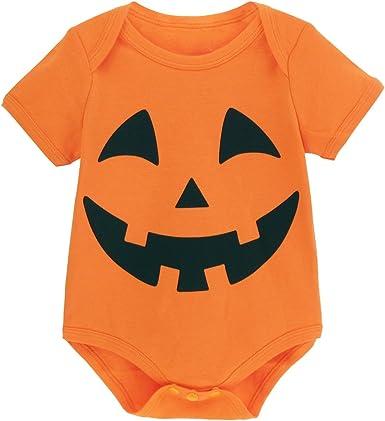 Mombebe Body Bebé Niño Halloween Calabaza Disfraz 3-6 Meses (70cm): Amazon.es: Ropa y accesorios