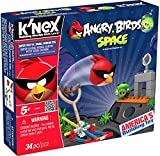 angry birds space knex - K'NEX Angry Birds Space-Super Red vs. Small Minion Pig