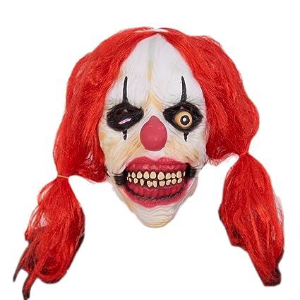 Máscara De Halloween Horror Sombrero Cabeza Fantasma Miedo Masculino Adulto Femenino Mueca Mascarada Diablo Muerte Látex