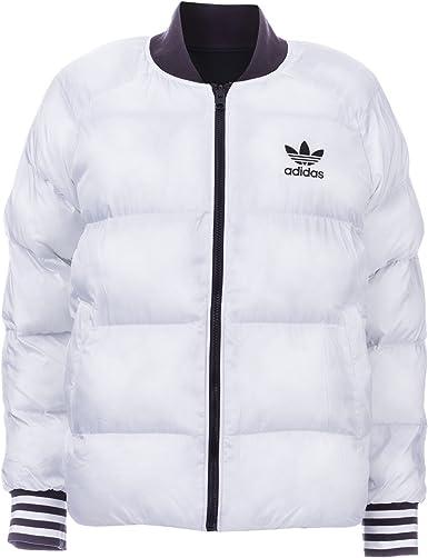 veste adidas noir et blanche femme