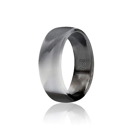 Amazon Com Wigerlon Mens Silicone Wedding Ring Rubber Wedding