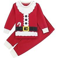 Mombebe Pigiama Bambino Natale Inverno Abbigliamento Set