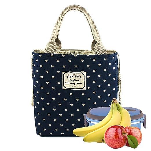 WHT Bolsas de Almuerzo para niños, Bolsas de Comida para el Trabajo Bolsas de Almuerzo para Mujeres niños Hombres Bolsas de Comida con Aislamiento ...