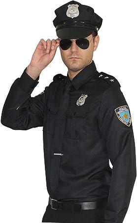 Maylynn 15145 - Disfraz de policía. Uniforme de policía para Hombres Talla L: Amazon.es: Juguetes y juegos
