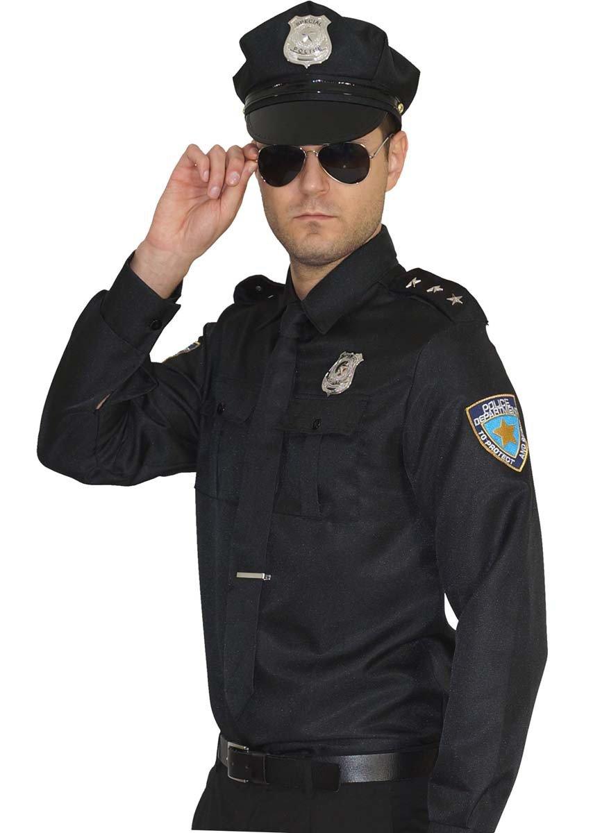 MAYLYNN 15145 - Kostüm Polizist Cop Polizei Uniform Polizistenkostüm, Größe XXL B07L6Q5576 Kostüme für Erwachsene Internationale Wahl | König der Quantität