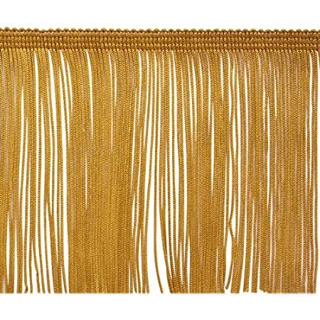 Expo International 5 Yards of 4 Chainette Fringe Trim 5 yd x 4 Berry