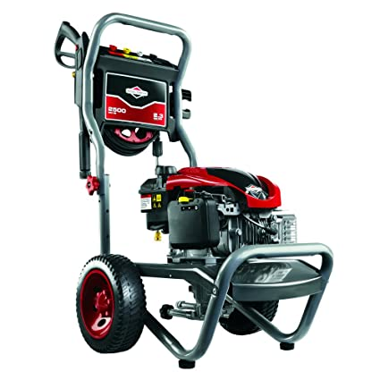 Briggs Stratton 20500 2 3 GPM 2500 PSI Gas Pressure Washer With 675 Series 190cc Engine And ReadyStart Technology Engine Oil Included Discontinued