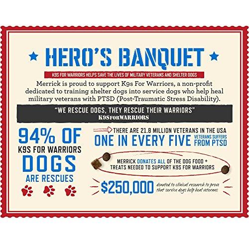 Merrick Backcountry Grain Free Hero'S Banquet Dry Dog Food, 22 Lbs. by Merrick (Image #3)