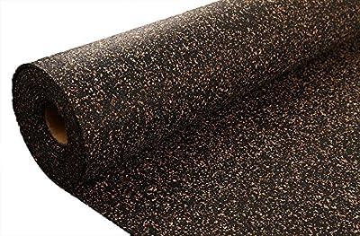 IncStores AcoustiCORK Underlayment - Ideal Subfloor for Hardwood, Ceramic, LVT, Laminte, Bamboo & Cork Flooring