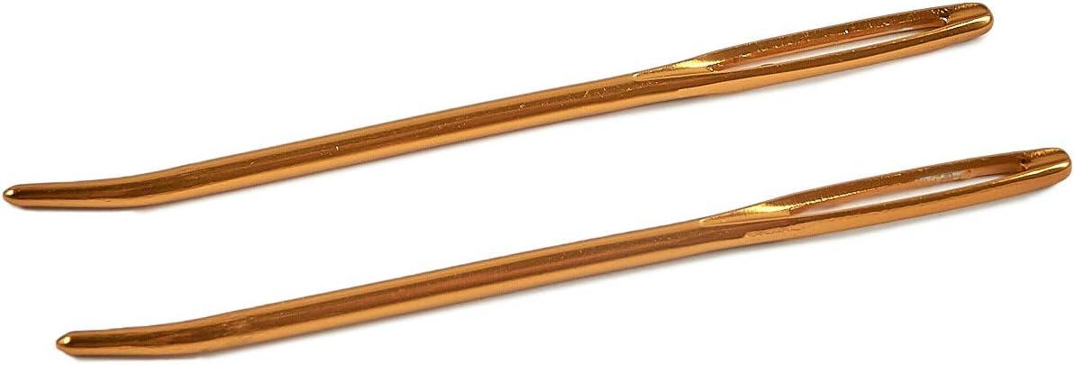 Pony Tapestry Stick aiguille sans pointe épaisseur 28 blanche Öhr 5 ST sans nickel 05839