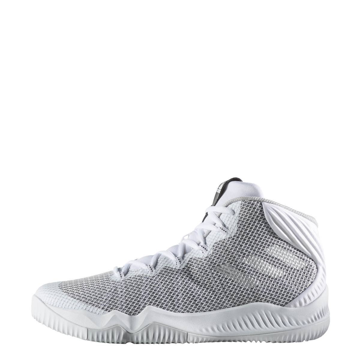 adidas Crazy Hustle Scarpe da Basket Uomo, Bianco (Ftwbla