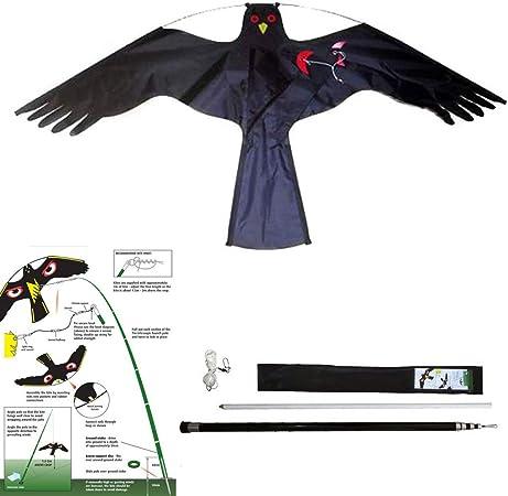 Repels Bird Pests such Defenders Eyeball Bird Scarer Wind-Activated Deterrent