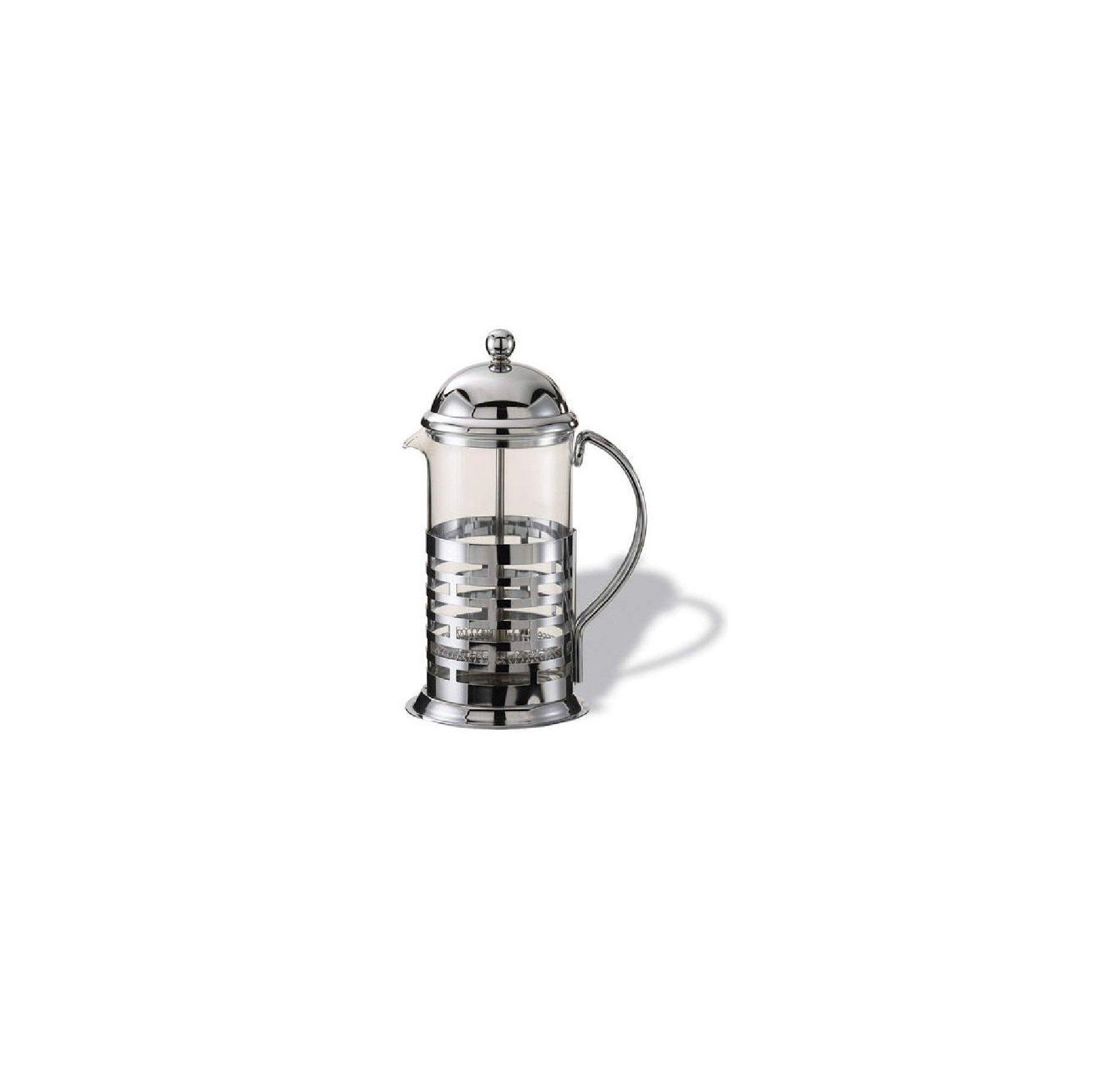 Service Ideas T277B .35 Liter (12.3 oz.) Glass / Chrome Coffee Press