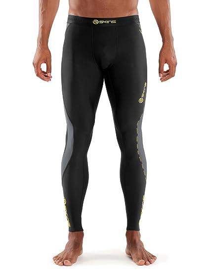 Skins Dnamic Team Long Sleeve Mens Thermal Training Top Fitness, Running & Yoga White 100% Guarantee