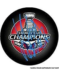Nicklas Backstrom Washington Capitals 2018 Stanley Cup Champions Autographed Stanley Cup Champions Logo Hockey Puck - Fanatics Authentic Certified