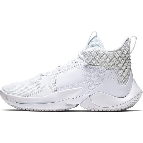 bas prix 4c9d1 eb5bb Nike Jordan Why Not Zer0.2 Ao6219-101 Homme: Amazon.fr ...