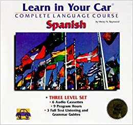 Learn in Your Car French Single Level 90 Minutes 2 Cassettes