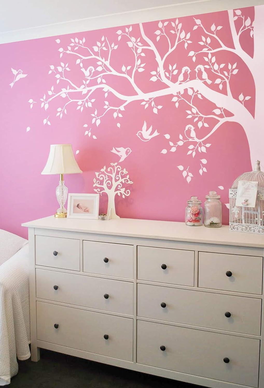 Baby Nursery Large Oak Tree Wall Decalwallconsilia Com
