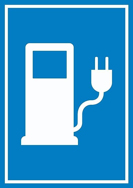 HB Impresión Corriente Cartel de gasolinera Vehículo ...
