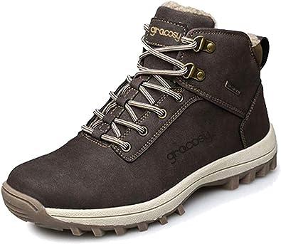 Homme Chaussures De Randonnée Bottes Et Boots Homme Hiver