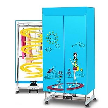Dryer-BAI ✏GYJ Secadora Portátil, Armario de Secador de Calentador de Hogar y Hogar - con Polea Móvil: Amazon.es: Hogar