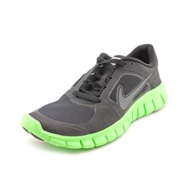Nike Free Run 3 (GS) Boys Running Shoes 512165-005 Black 5 M