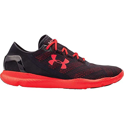 buy online c6903 ebf83 Under Armour Men's UA Speedform Apollo Vent Sneaker - 13 D(M) US -  Black/Red/Red: Amazon.in: Shoes & Handbags