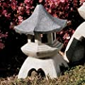 Design Toscano Pagoda Lantern Statue Size: Large