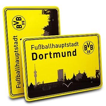 BVB 09 Borussia Dortmund Fr/ühst/ücksbrettchen 2er Set