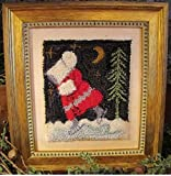 Punchneedle Embroidery JANUARY BONNET GIRL