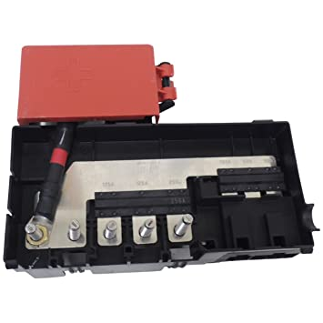 61C4d yyY9L._SY355_ amazon com 23261760 engine comptartment fuse block for 2015 chevy 2015 gmc sierra 1500 fuse box location at soozxer.org