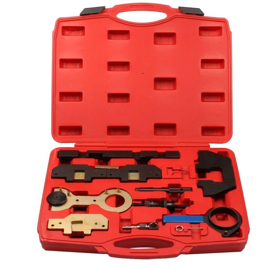 Supercrazy BMW M42 M44 M50 M52 M54 M56 Engine Camshaft Alignment Locking Timing Tool Kit For SF0075