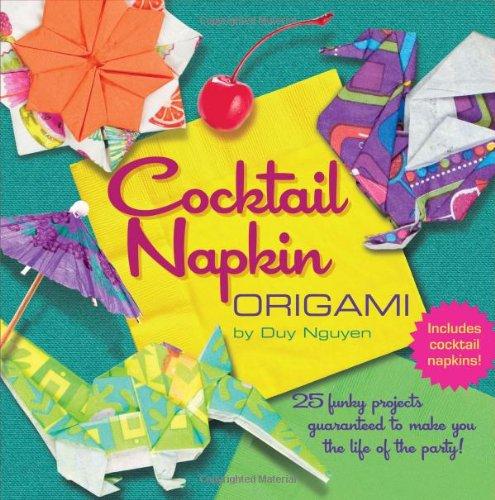 Cocktail Napkin Origami PDF