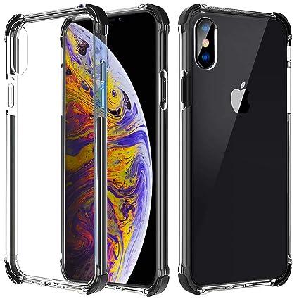 iphone xs clear hard case