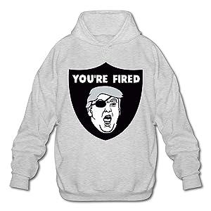 Mens Trump Raiders Pullover Hoodie Sweatshirt