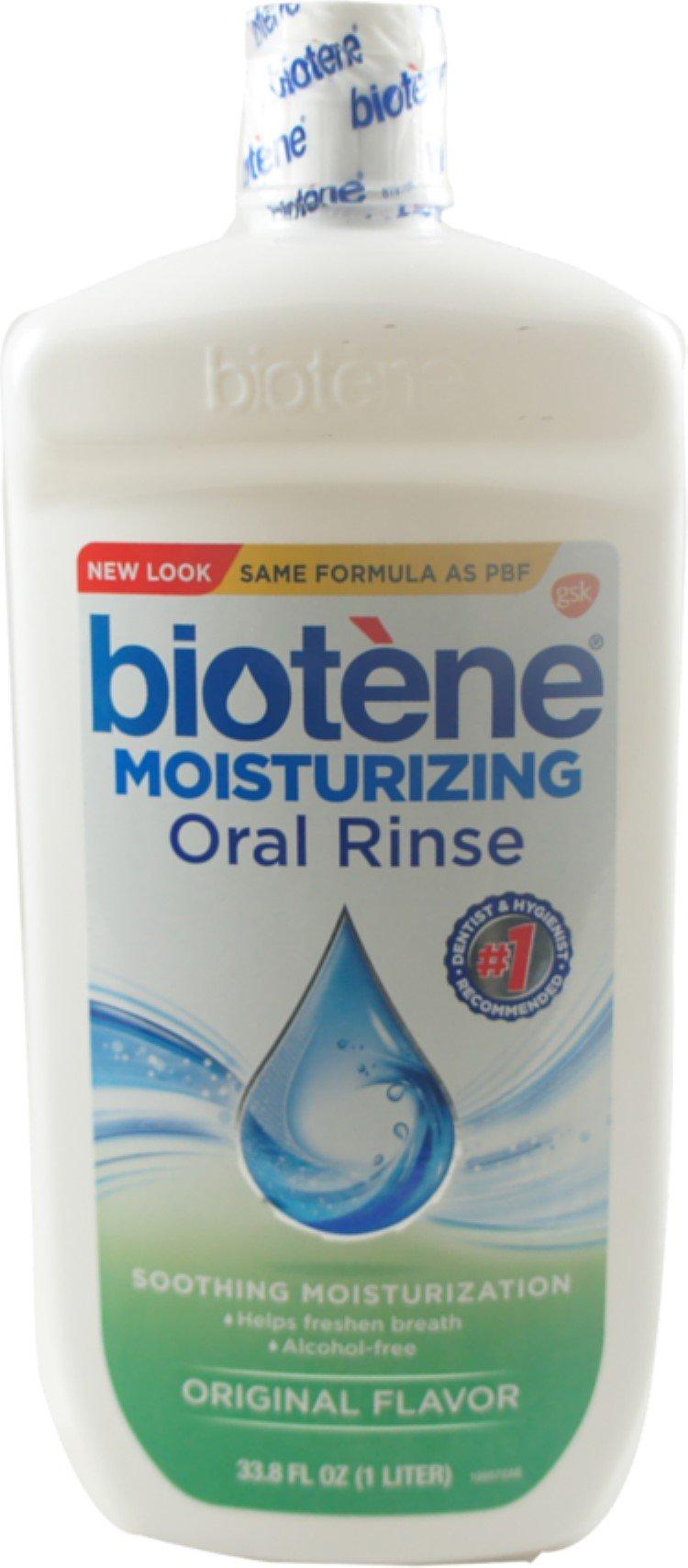 Biotene PBF Oral Rinse 33.8 oz (Pack of 7)