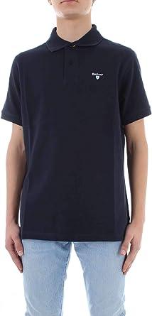 Barbour BAP0L0119NY31 - Polo de algodón para Hombre, Color Azul ...