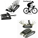 FASTPED® 15 in 1 Bicycle Repair Tools Sets Multi-Purpose Wrench Mountain Bike Toolkit