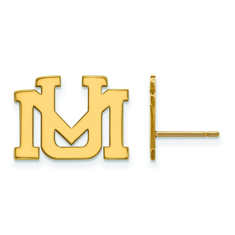 Montana small ( 1 / 2インチ)ポストイヤリング(ゴールドメッキ)   B01JAP187E