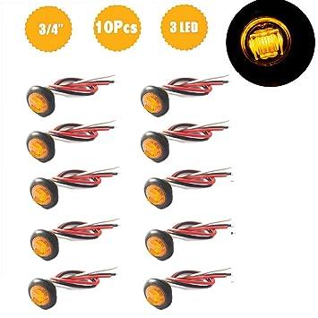 LED Seitenmarkierungsleuchte Abstand Licht 3/4 \