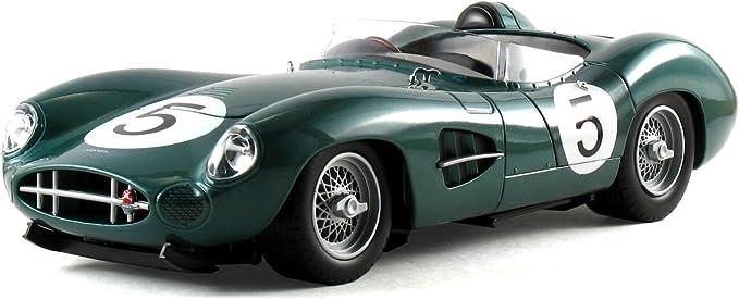 Shelby Collectibles 1 18 Aston Martin Dbr1 Shelby Salvadori Le Mans Winners 1959 Green Amazon De Spielzeug