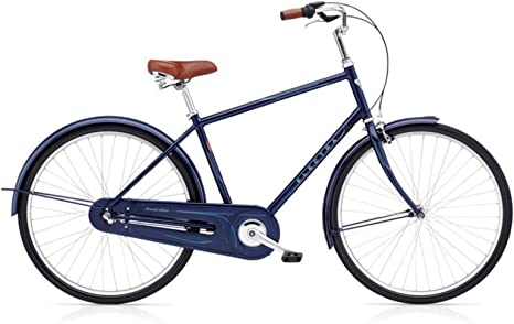 Electra Amsterdam Original 3i – Bicicleta Azul Metallic Ciudad ...