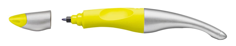 STABILO EASYoriginal Stylo roller ergonomique rechargeable  FLUO jaune Droitier