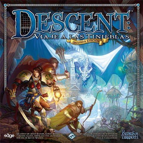 Descent: Viaje a las Tinieblas 2nda Ed.: Amazon.es: Juguetes y juegos