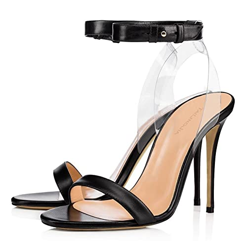 Transparentes Tacones De Mujer Elegant Zapatos Shoes Para Altos High awSYnOqR